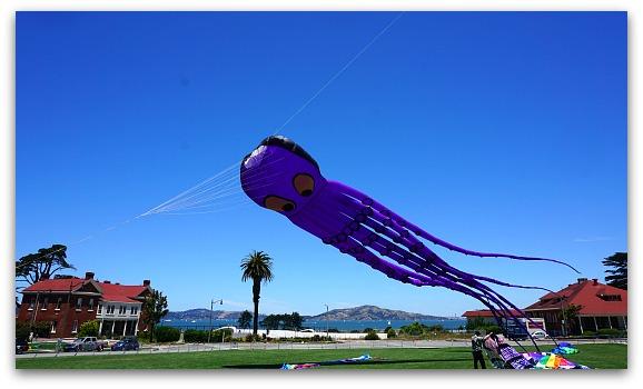June Kite Festival in the Presidio