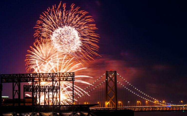 NYE Cruises in San Francisco