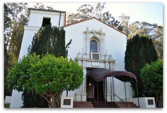 The small chapel in the SF Presidio