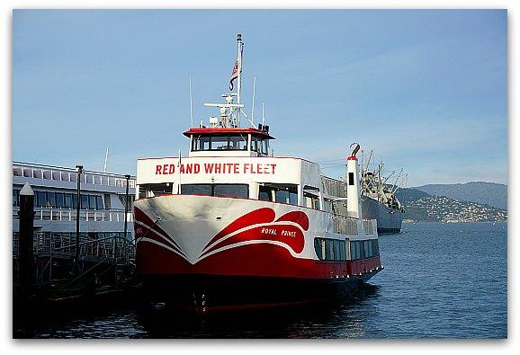 Red & White Fleet in Fisherman's Wharf