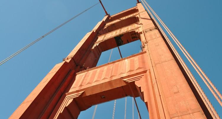 The San Francisco Golden Gate Bridge