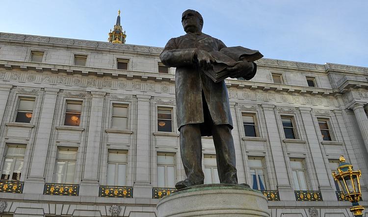 Statue Outside City Hall