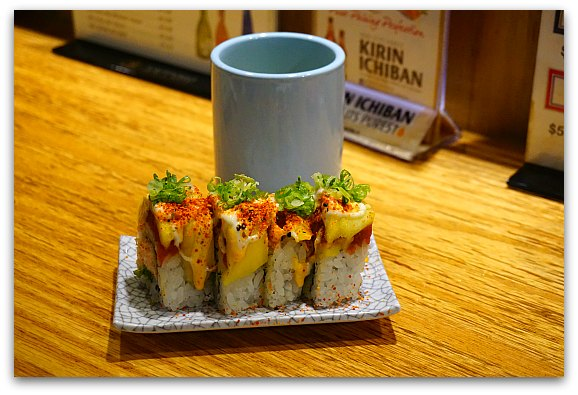 Sushi in Japantown