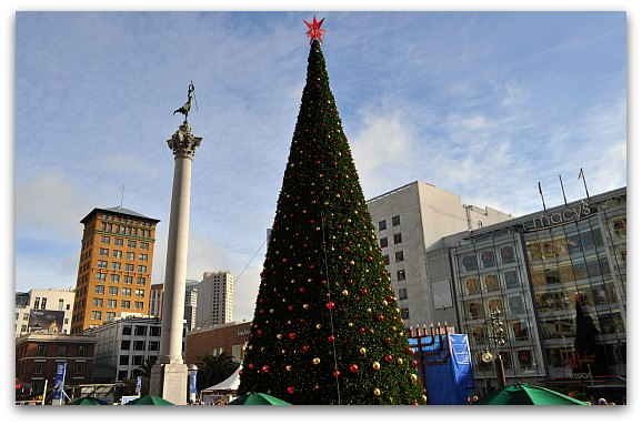 Holiday Tree at Union Square