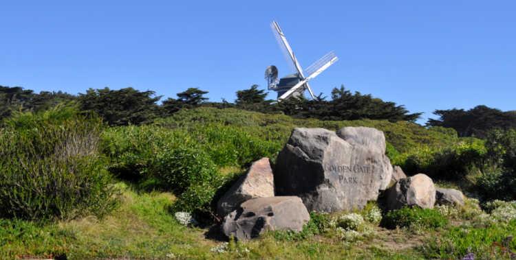 Western End of Golden Gate Park