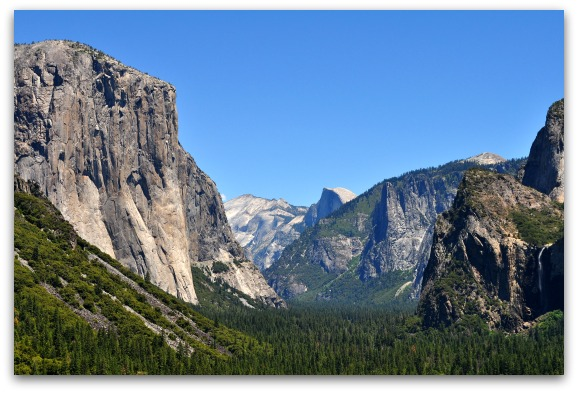 Yosemite from Inspiration Point